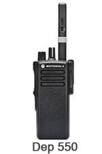 Radios Portátiles Motorola dep-550