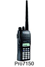 Radios Portátiles Motorola pro7150