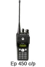 Radios Portátiles Motorola ep-450